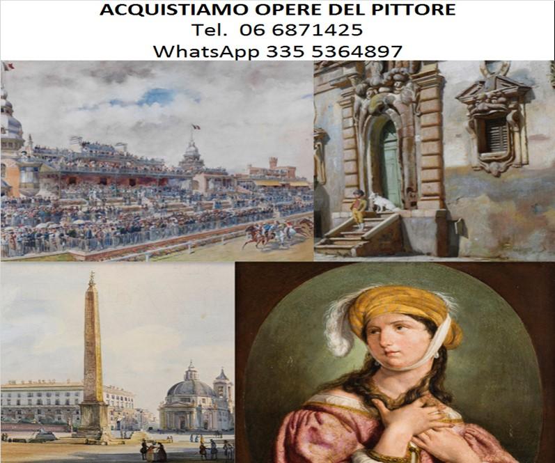 Giovanni bartolena pittore quotazioni e prezzi opere for Compro quadri contemporanei