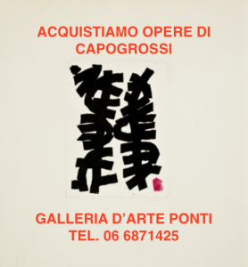 giuseppe-capogrossi-artista-opere-quotazioni-prezzi-vendita-acquisti-compro-valore-galleria-arte-valutazioni-stima